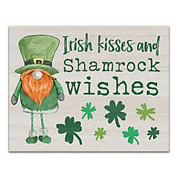 Designs Direct Irish Fun Canvas Wall Art in Green