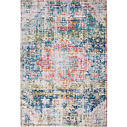 Abacasa Rose Biscayne Rug in Blue