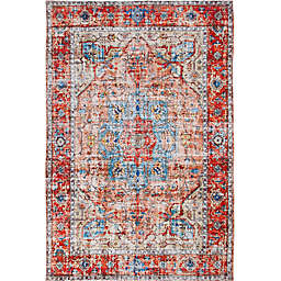 Abacasa Rose Fabienne Rug in Red