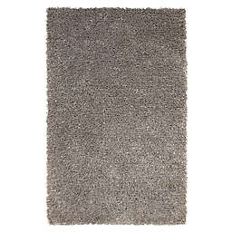 Abacasa Lifestyle Handcrafted Shag Area Rug in Blue/Grey