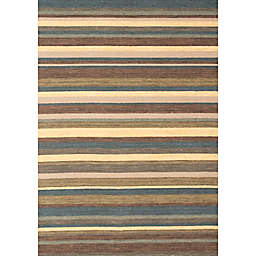 Abacasa Lifestyle Carlton 5' x 8' Handcrafted Area Rug in Chocolate/Multicolor