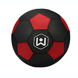 Wicked Big Sports Soccer Ball in Red/Black