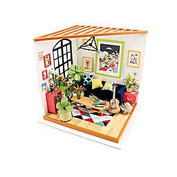 Locus's Sitting Room 156-Piece 3D DIY Mini Dollhouse Puzzle