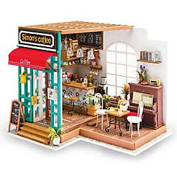 Simon's Coffee Shop DIY Miniature House 203-Piece 3D Puzzle