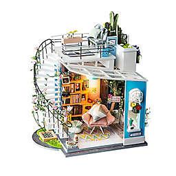 Dora's Loft DIY Miniature House 171-Piece 3D Puzzle