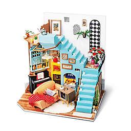 Joy's Living Room 214-Piece 3D DIY Mini Dollhouse Puzzle