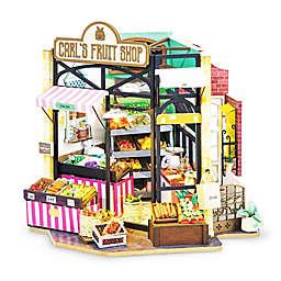 Carl's Fruit Shop 206-Piece 3D DIY Mini Dollhouse Puzzle