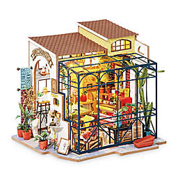 Emily's Flower Shop DIY Miniature House 258-Piece 3D Puzzle