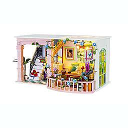 Sweet Patio DIY Miniature House 199-Piece 3D Puzzle
