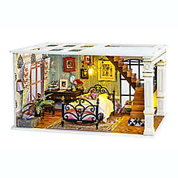 Paris Midnight DIY Miniature Dollhouse 159-Piece 3D Puzzle