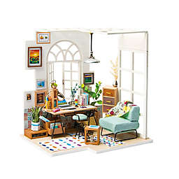 Soho Time 78-Piece 3D DIY Mini Dollhouse Puzzle