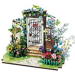 Garden Entrance 90-Piece 3D DIY Mini Dollhouse Puzzle