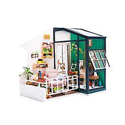 Hands Craft Balcony Daydreaming DIY 3D Mini Dollhouse