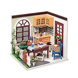 Mrs Charlie's Dining Room DIY Miniature House 84-Piece 3D Puzzle