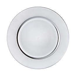 Simply Essential™ Charger Plates in Silver (Set of 6)