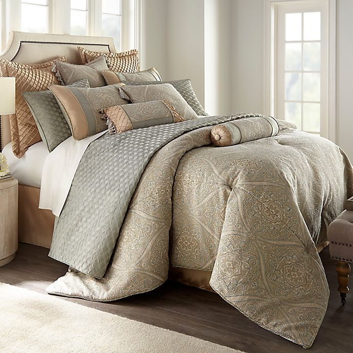 Alternate image 1 for Newport 3-Piece King Duvet Cover Set in Taupe
