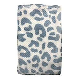 Wild Sage™ Leopard Hand Towel in Blue