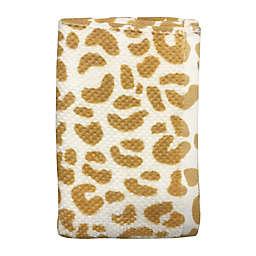 Wild Sage™ Leopard Hand Towel in Yolk Yellow