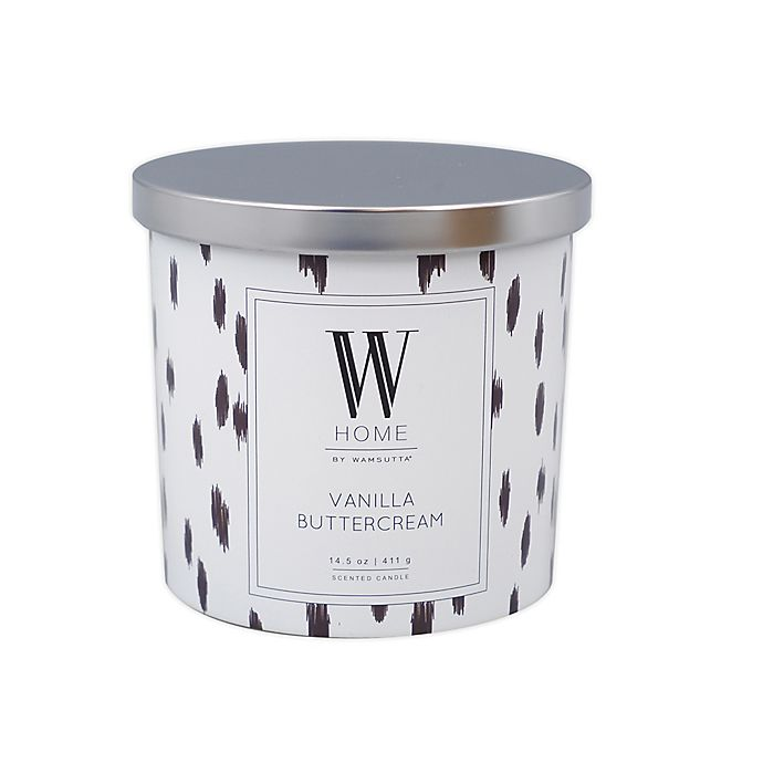 Alternate image 1 for W Home™ Vanilla Buttercream 14 oz. Candle