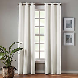 Simply Essential™ Robinson 2-Pack 95-Inch Grommet Blackout Window Curtain Panels in Taupe
