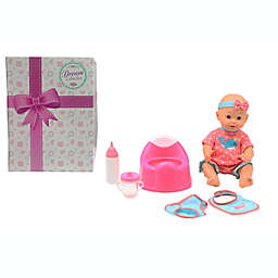 Gi-Go Toy 6-Piece Drink and Wet Baby Doll Set with Training Potty