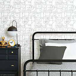 RoomMates® Star Wars™ R2-D2 Geometric Peel & Stick Wallpaper