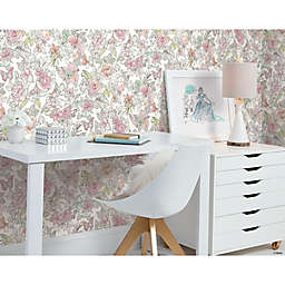 RoomMates® Disney® Princess Royal Floral Peel & Stick Wallpaper