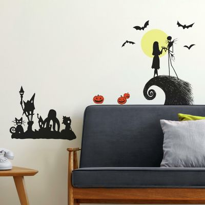 Nightmare Before Christmas Wall Decal Decor 3D Sticker Art Smashed Vinyl GS318
