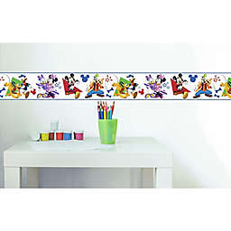 RoomMates® Disney® Mickey and Friends Peel & Stick Wallpaper Border