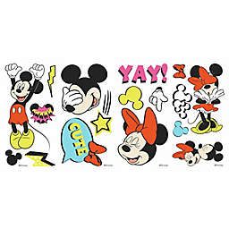 RoomMates® Mickey and Minnie Peel & Stick Wall Decals