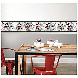 RoomMates® Disney® Vintage Mickey Mouse Peel & Stick Wallpaper Border
