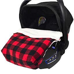 CosyCare CosyToes Mountain Fleece Baby Blanket in Red