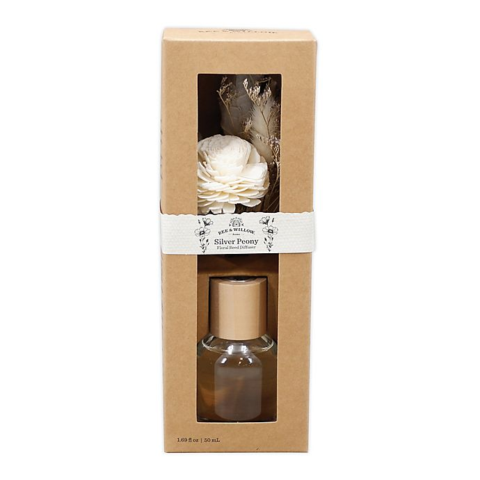 Alternate image 1 for Bee & Willow™ Silver Peony Spring Floral Reed Diffuser