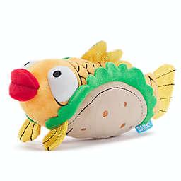 BARK Ernesto the Fish Taco Squeaker Dog Toy in Tan/Orange