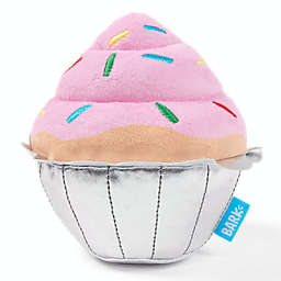 BARK Mutts Have List Squeak Tooth Cupcake Dog Toy