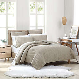 UGG® Dawn 3-Piece King Quilt Set in Oatmeal