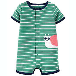 carter's® Snail Romper in Green