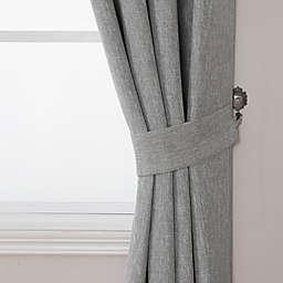Quinn Window Curtain Tie Backs in Grey (Set of 2)
