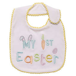 """Baby Starters® """"My First Easter"""" Bib in Yellow"""