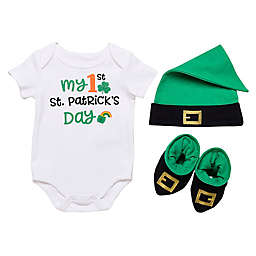 "Baby Starters® Size 9M 3-Piece ""My First St. Patrick's Day"" Layette Set"