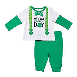 Baby Starters® 2-Piece First St. Patrick's Day Shirt and Pant Set