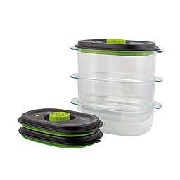 Foodsaver Preserve & Marinate Vacuum Containers (Set of 3)