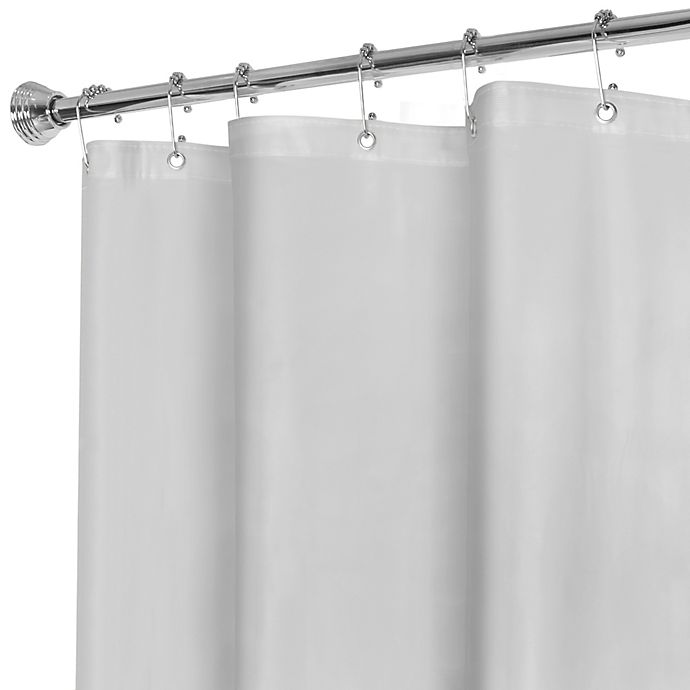 Alternate image 1 for Titan Heavyweight PEVA Shower Curtain Liner in Frost