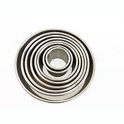 Our Table™ 8-Piece Stainless Steel Round Cookie Cutters Set