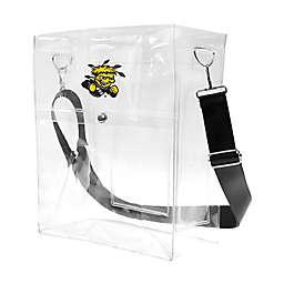 Wichita State University Clear Ticket Satchel Bag