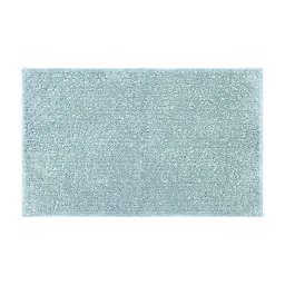 "Simply Essential™ Cotton 20"" x 32"" Bath Rug in Blue"