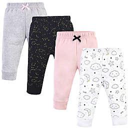Hudson Baby® Size 3T 4-Pack Dreamer Cotton Pants