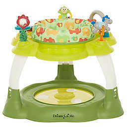 Dream on Me Extravaganza 3-in-1 Activity Center and Jumper in Green