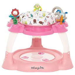 Dream on Me Extravaganza 3-in-1 Activity Center and Jumper in Pink