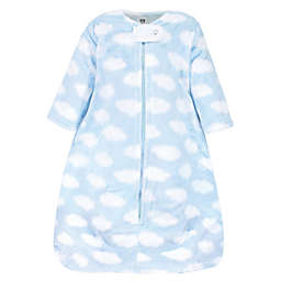 Hudson Baby® Size 6-12M Clouds Plush Wearable Blanket in Blue